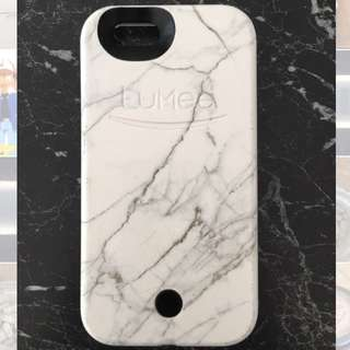LUMEE White Marble iPhone 6s Case