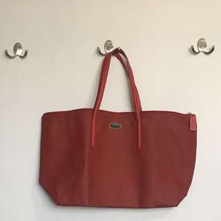Red Lacoste Bag