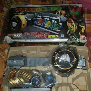 Rare! Super Best Kamen Rider Ooo Driver (With Full Set Medals!)