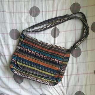 Aztec Print Sling Bag