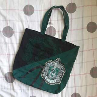 Harry Potter Slytherin Tote Bag
