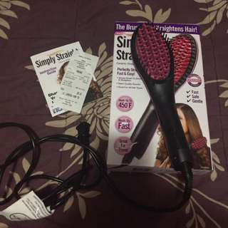 Straightener Brush Brand New