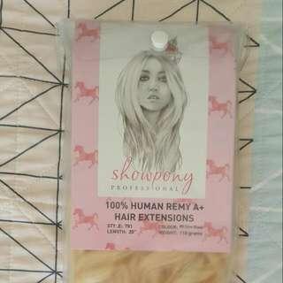 Full Set Showpony Real Hair Extensions