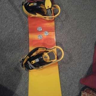 Burton Beginner Snowboard