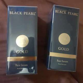 Black Pearl With Gold