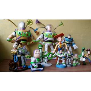 Toy Story Woody, Buzz Light Years Action Figures Set
