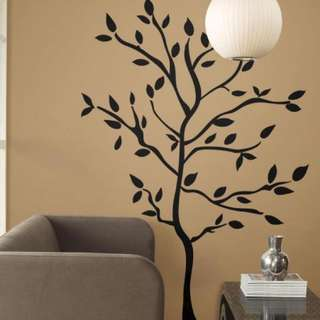 Brand New RoomMates Tree Wall Decals Extra Large (60)