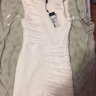 BCBG Half Shirred Dress XS