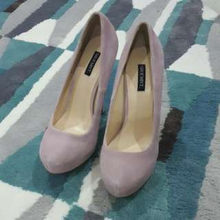 SHOEMINT Lilac Pumps