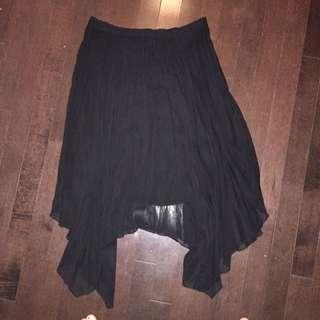 A&F Skirt Medium Scalloped Chiffon