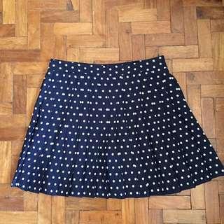 Polka Dots Mini Skirt