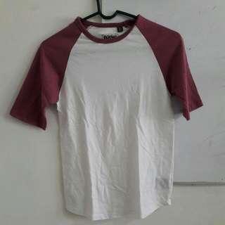 [RESERVED] Maroon Baseball Shirt Raglan