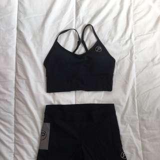 PocJox Crop Top & Shorts