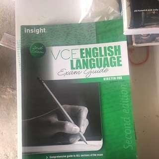 VCE English Language Guide