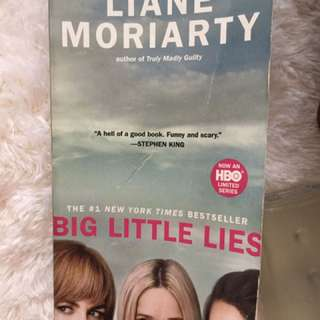 Liane Moriarty Big Little Lies English