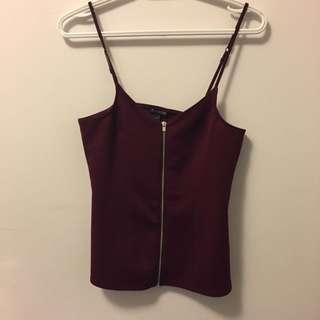Burgundy Purple Short Medium