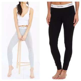 CALVIN KLEIN Modern Cotton Logo Leggings