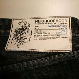 Neighborhood Denim Jeans Shorts Level2
