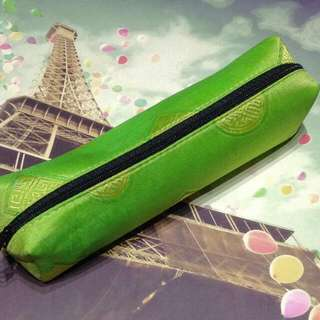 BRAND NEW Lime Green Pencil Case