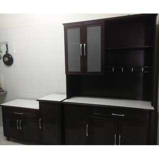 1 + 1 Kitchen Cabinet (Almari Dapur Gas)