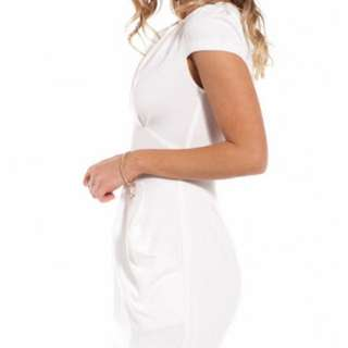 ShowPo Starstruck White Dress Size 6