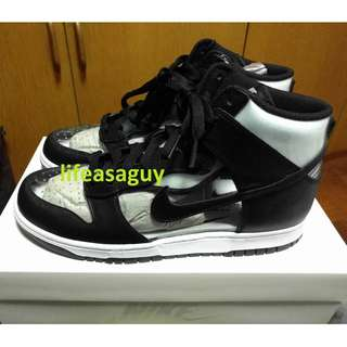 size 40 4c538 2cf83 (Grail) COMME des GARCONS x Nike Dunk Hi (Clear) US10, Men s Fashion,  Footwear, Sneakers on Carousell