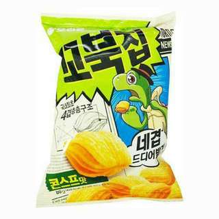 Orion- Turtle Chips Cornsoup Flavour (80g or 160g)