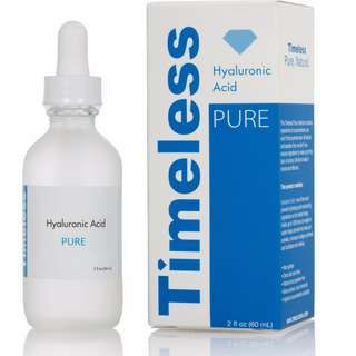 Hyaluronic acid serum 100% pure by Timeless Skincare (USA) 30ml