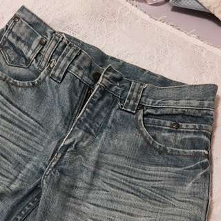 Cropped Jeans (High waisted)