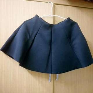 黑色A字蓬蓬裙