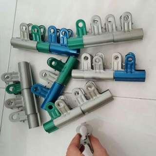 Metal Pegs, Clips, Racks