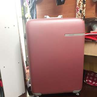 29吋鋁框CAGGIGNI行李箱/粉色