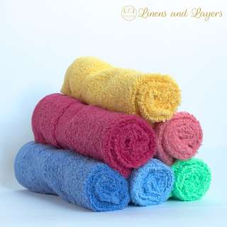Face Towel - Y.S. Cannon - Assorted Colors