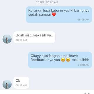 Testimonial RCMA Share In Jar❤️