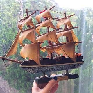 精緻木船模型 #轉轉來交換