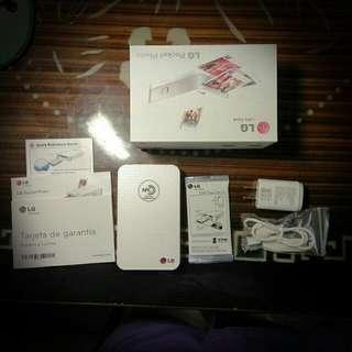 LG口袋相片印表機