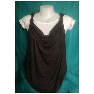 H&M Cowl Neck Vest Style Top