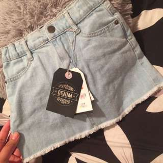Cotton On Kids - Denim Skirt