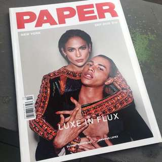 PAPER Magazine, September 2015 (RARE)