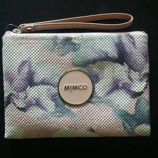 BNWT Mimco Magnolia Dream Mesh Medium Pouch