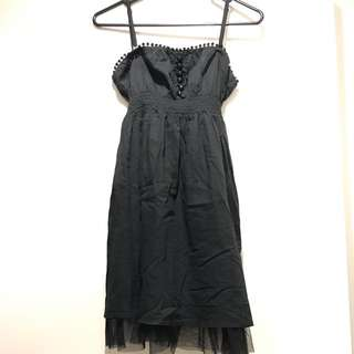 Pre💝AU8-10 Black dress