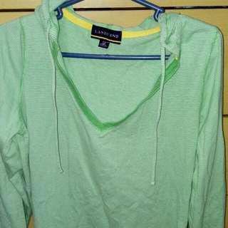 Free Size Green Sweat Shirt