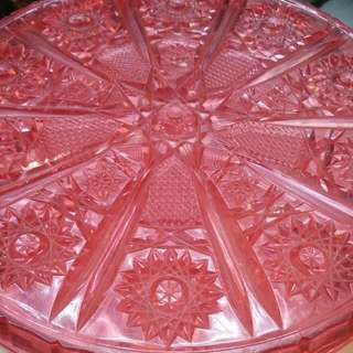 Pink Candy Tray