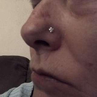 Flower Nose Studs
