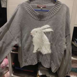 Cute Rabbit top for winter