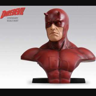 Sideshow Daredevil Legendary Scale Bust