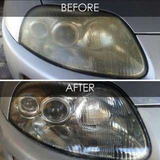 Car Headlight Restoration Service