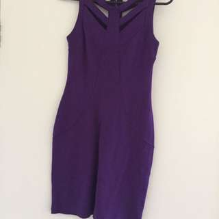 STELLA Cocktail Dress Purple