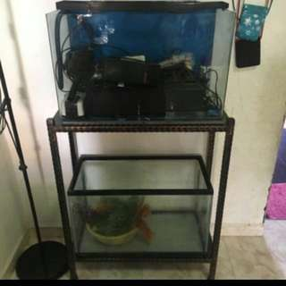 Fish Tank Full Set .