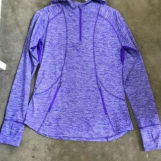 Purple Sports Sweater - Active Wear
